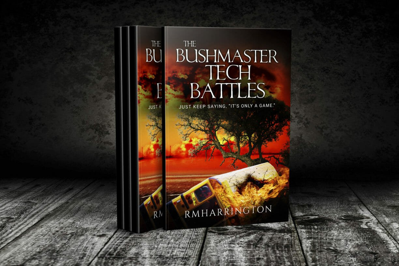 Apocalyptic fiction the bushmaster tech battles rm harrington fandeluxe Image collections